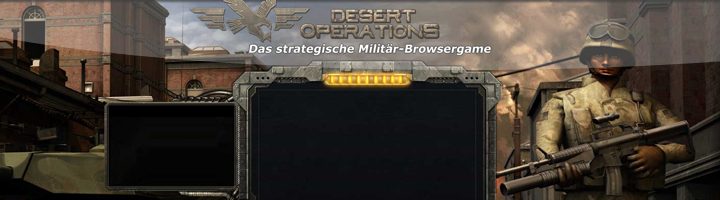 Desert Operations Browserspiel