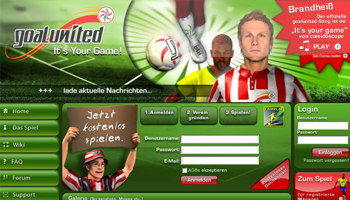 Onlinespiel GoalUnited