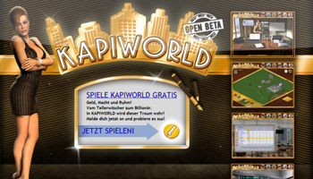 Onlinespiel Kapi World